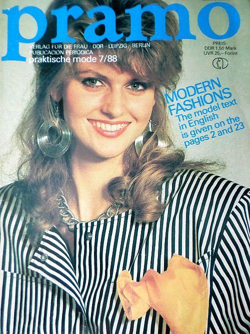 PRAMO 7/1988 RETRO v němčině