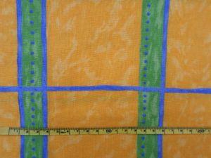 Sanny - žlutozelená bavlna s pruhy 115x140cm - kus
