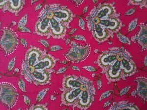 Vanesa - ostrá růžová se vzorem - panel