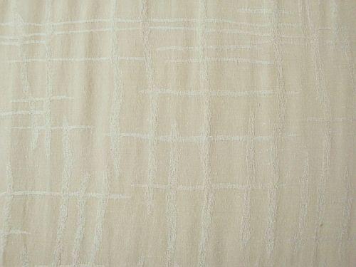 Věrka - béžová halenková látka se vzorem