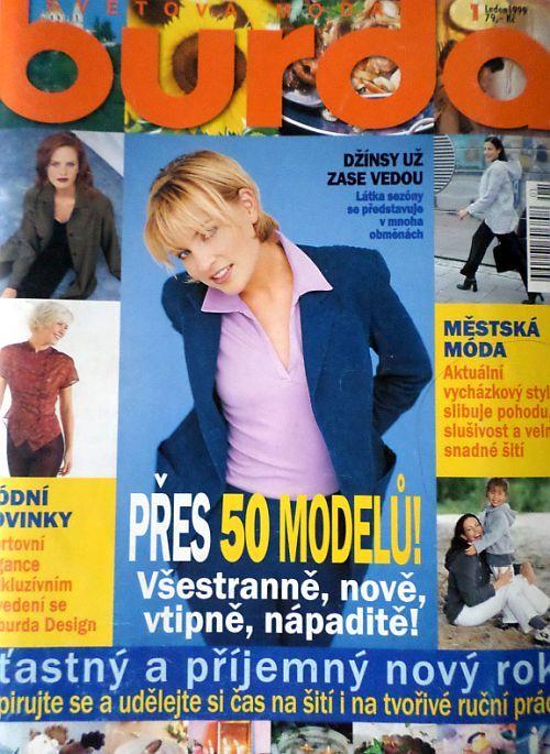 Burda 1/1999 v češtině