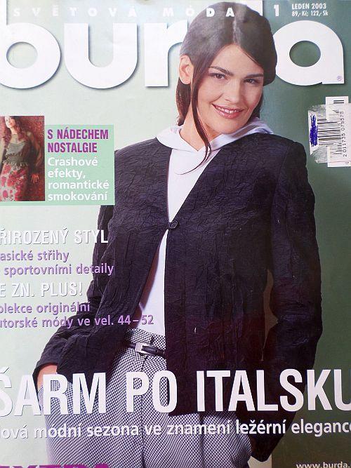 Burda 1/2003 v češtině