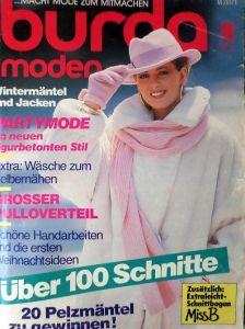 Burda 10/1986 v němčině
