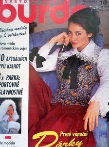 Burda 10/1993 v  češtině