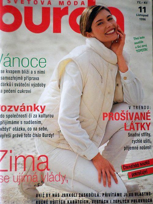 časopis Burda 11/1996 v češtině