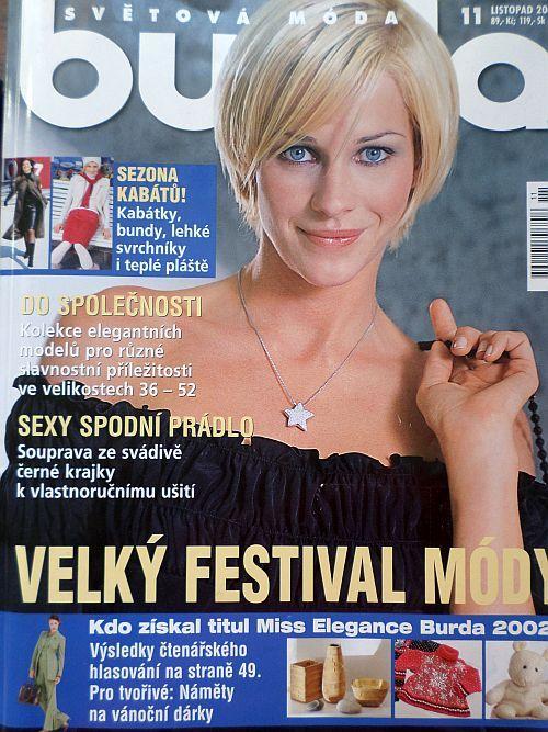 Burda 11/2002 v češtině