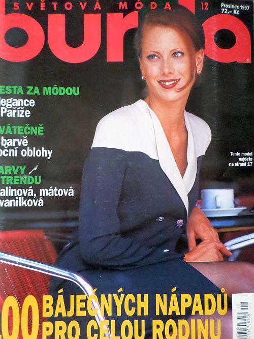 časopis Burda 12/1997 v češtině
