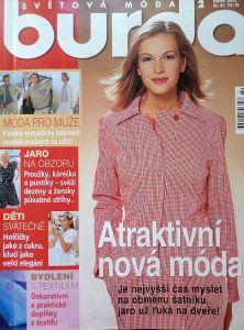 Burda 2/2002 v češtině