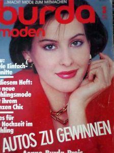 Burda 3/1984 v němčině