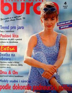 Burda 4/1996 v češtině