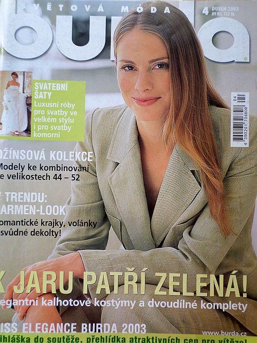 Burda 4/2003 v češtině