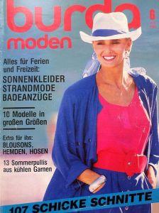 Burda 6/1986 v němčině