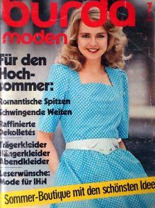 Burda 7/1982 v němčině