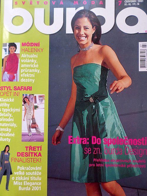 Burda 7/2001 v češtině