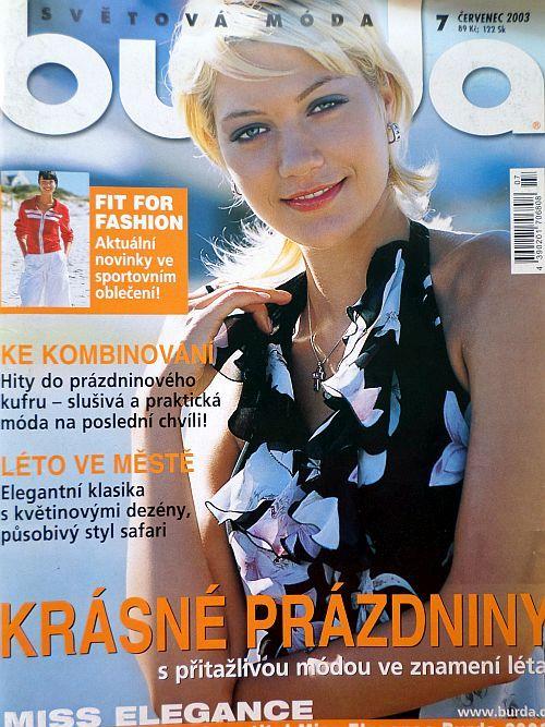 časopis Burda 7/2003 v češtině