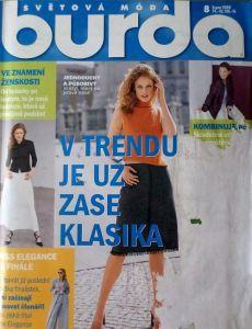 Burda 8/2000 v češtině