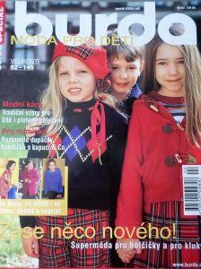 Burda - Móda pro děti 8/2004 v češtině