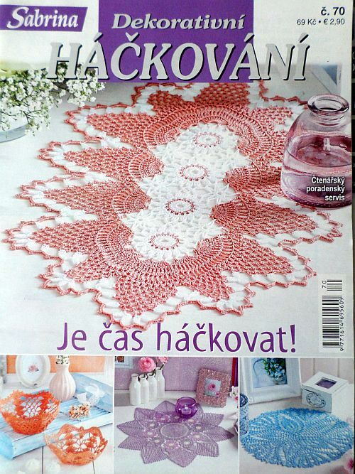 Dekorativní háčkování č. 70 v češtině