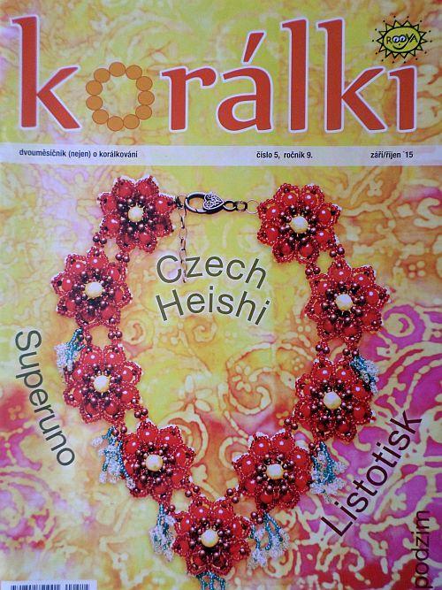 Korálki - časopis nejen o korálkování č. 5/2015
