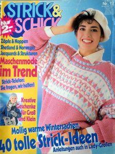 Strick & Schick č. 12 -  v němčině