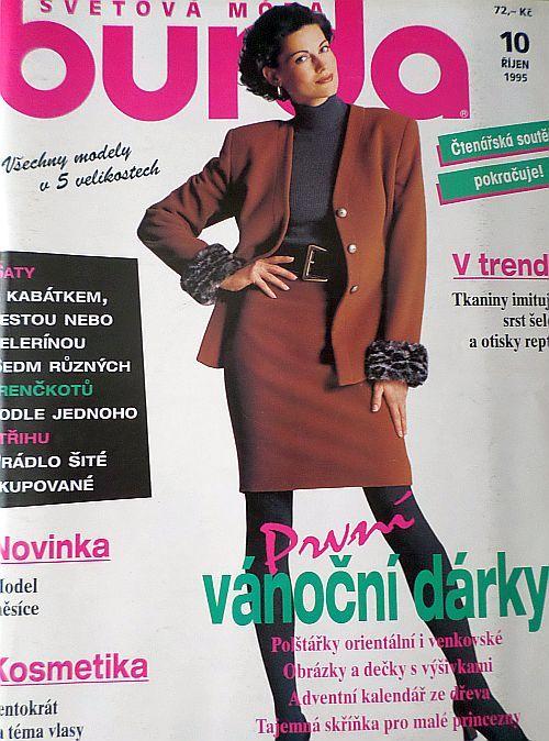 Burda 10/1995 v češtině