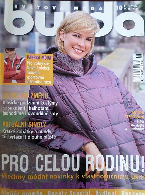 časopis Burda 10/2002 v češtině