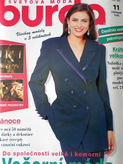 Burda 11/1995 v češtině
