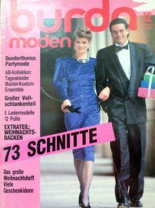 Burda 12/1986 v němčině
