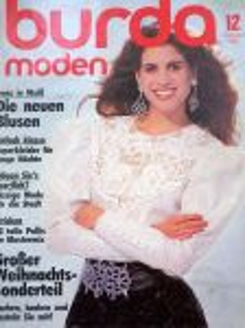 Burda 12/1987 v němčině