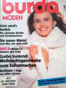 Burda 12/1988 v němčině