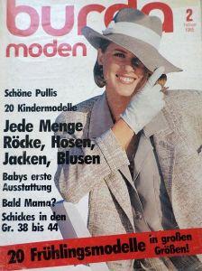 Burda 2/1985 v němčině