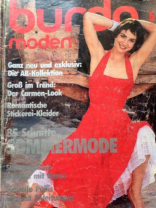 Burda 5/1985 v němčině
