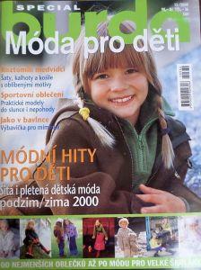 Burda - Móda pro děti 15/2000 v češtině