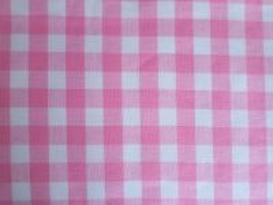 Lucie - bílorůžová bavlněná kostka 1x1 cm