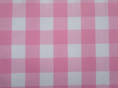 Lucie - bílorůžová bavlněná kostka 2x2 cm Česká výroba