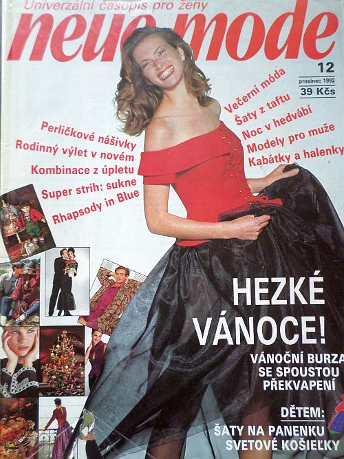 Neue Mode 12/1992 v češtině