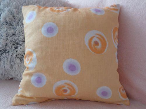 Povlak na polštář 40x40 cm - oranžový