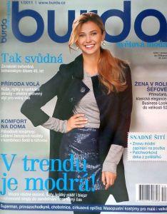 časopis Burda 1/2011 v češtině