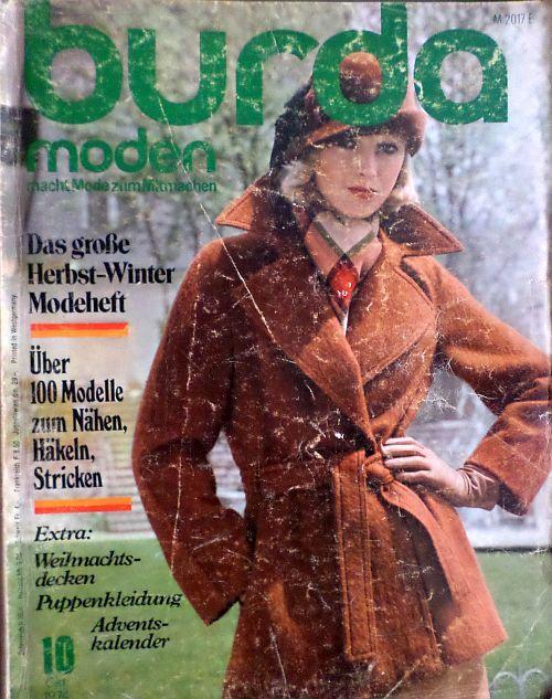 Burda 10/1974 RETRO
