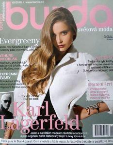 časopis Burda 10/2010 v češtině
