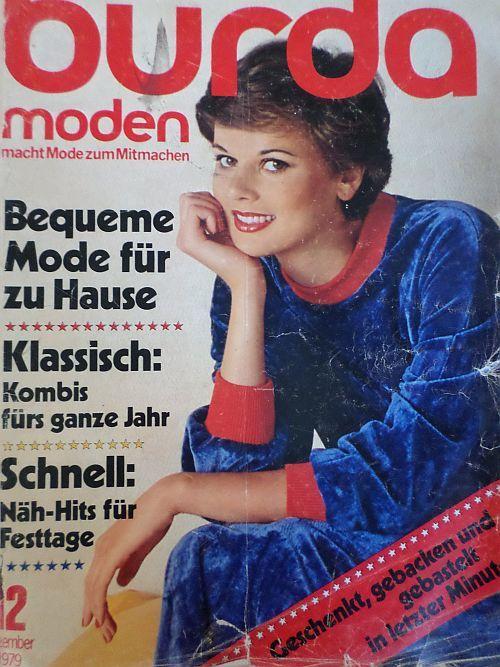 Burda 12/1979 v němčině