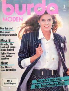 Burda 2/1988 v němčině
