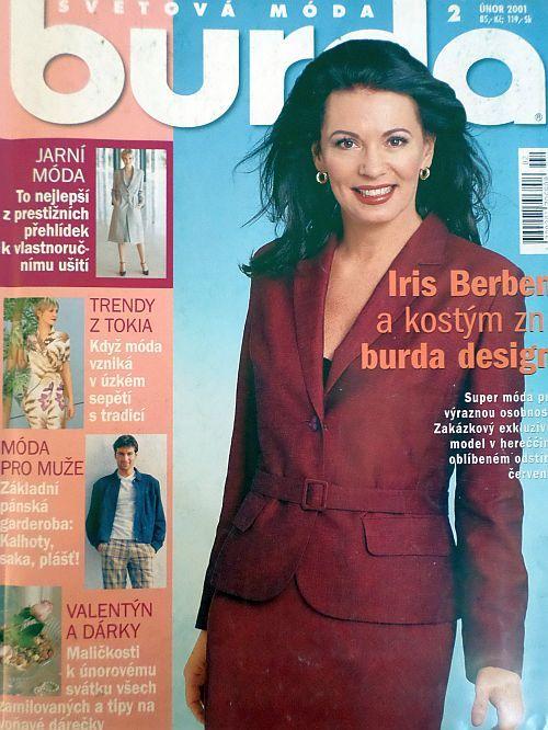 časopis Burda 2/2001 v češtině