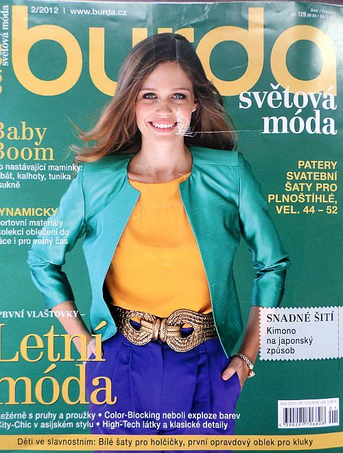 časopis Burda 2/2012 v češtině