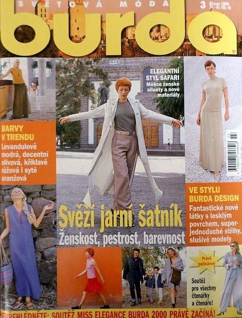 časopis Burda 3/2000