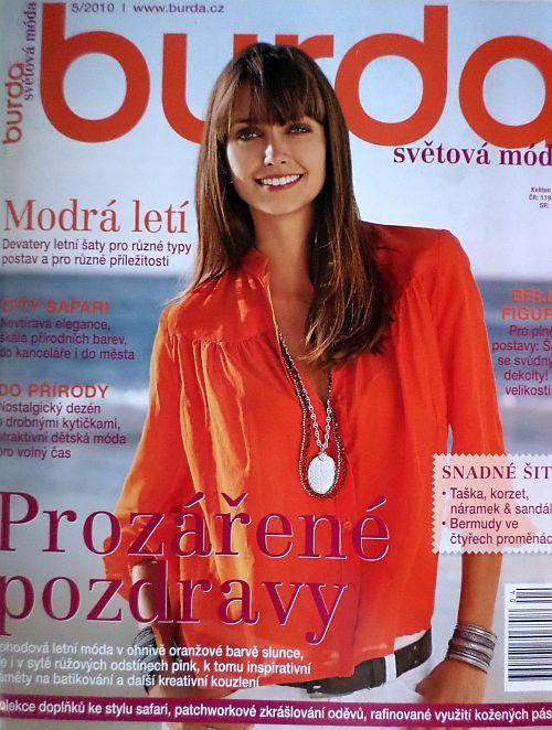 časopis Burda 5/2010 v češtině