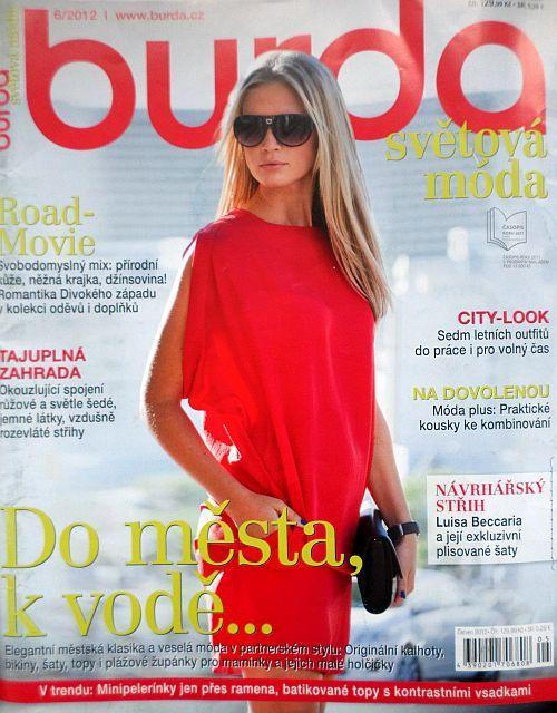 časopis Burda 6/2012 v češtině