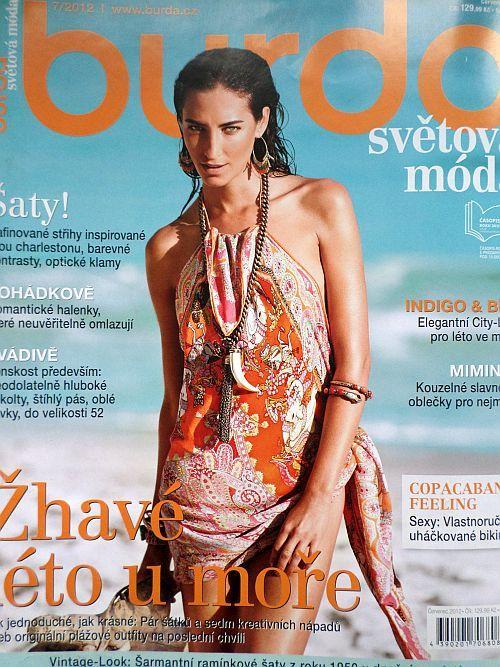 časopis Burda 7/2012 v češtině