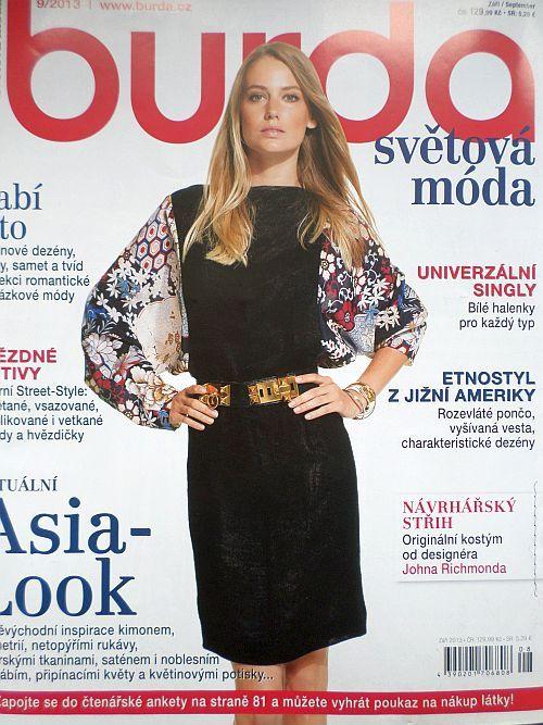 časopis Burda 9/2013 v češtině