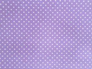 Dajána - fialková látka s bílými puntíčky
